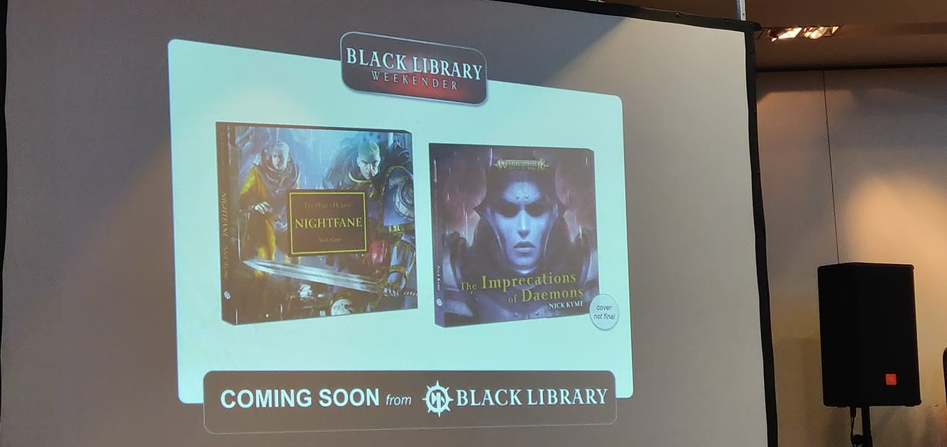 [The Black Library Weekender 2018] - Centralisation des news 45412810