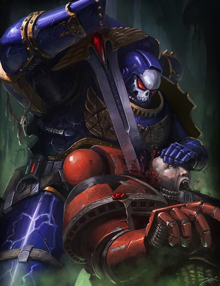 [W40K] Collection d'images : Space Marines du Chaos - Page 12 49603610