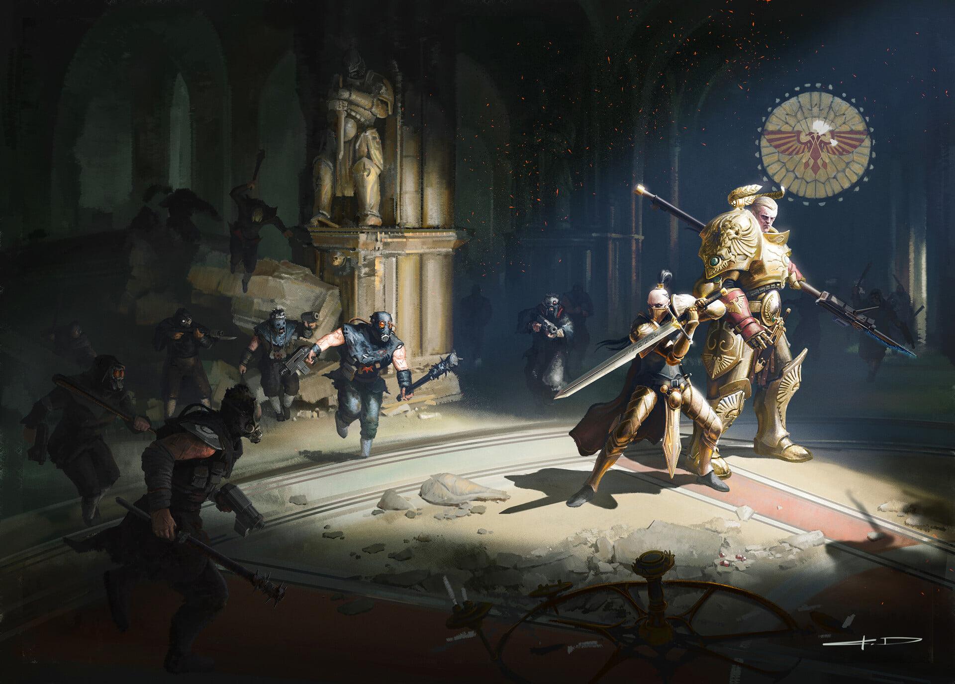 Gardiens du Trône : L'Ombre du Régent de Chris Wraight 73342911