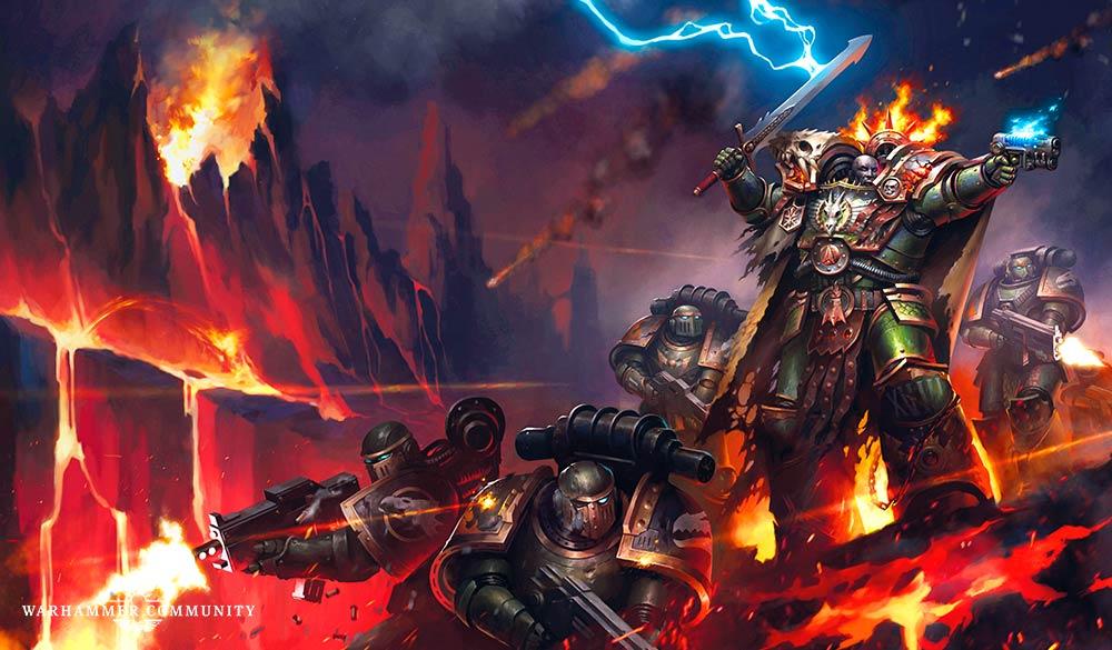 Les Primarques - 9 - Vulkan: Seigneur des Drakes de David Annandale Blprev10