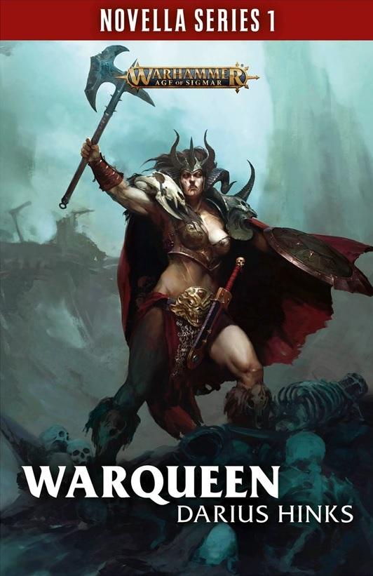 Reine de Guerre de Darius Hinks - Novella Blproc83