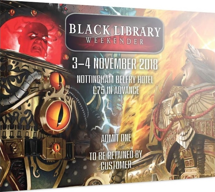[The Black Library Weekender 2018] - Centralisation des news Blrele13