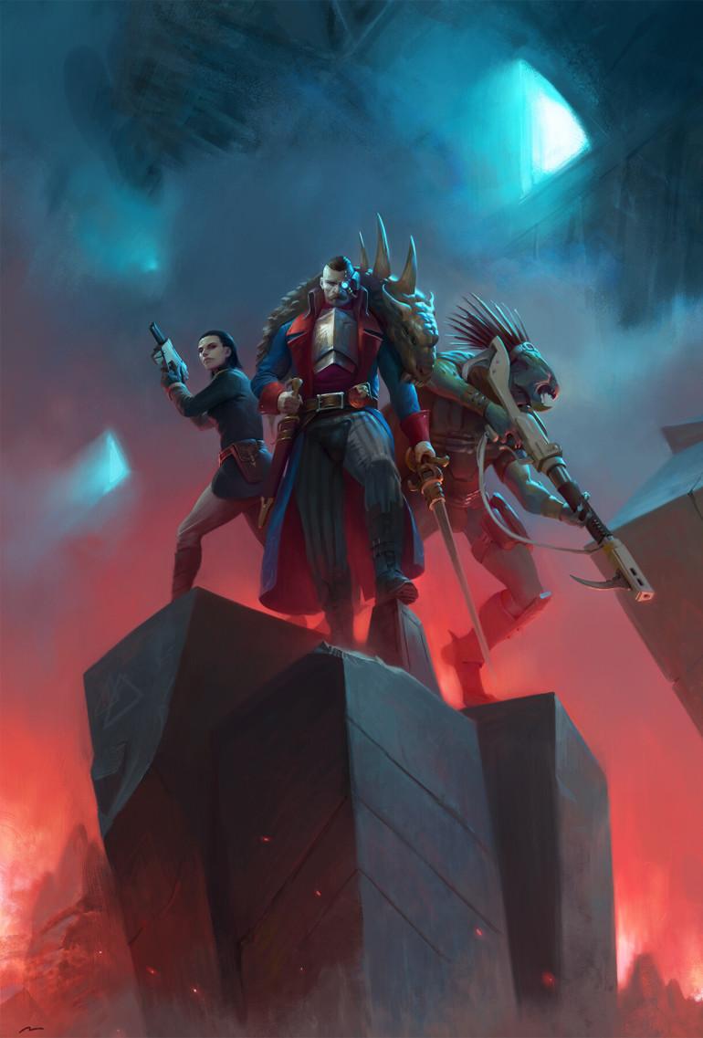 Blackstone Fortress: Ascension de Darius Hinks Cec91410