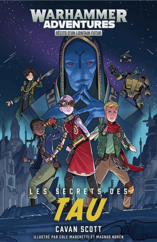 Warhammer Adventures - Les Galaxies Distordues de Cavan Scott - Romans Jeunesses  Db89ff10