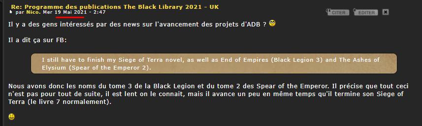 Programme des publications The Black Library 2021 - UK - Page 2 Image_10