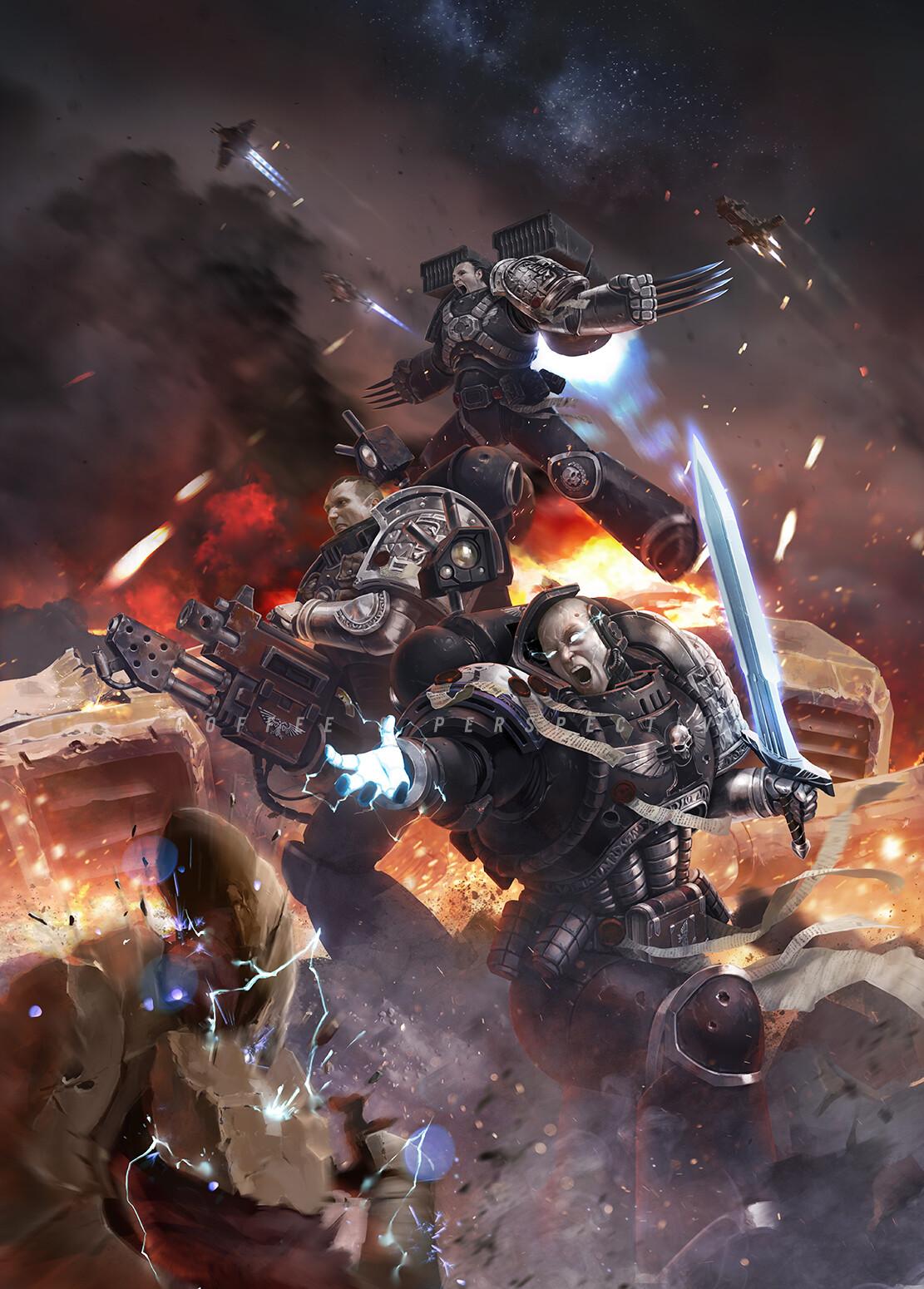 Deathwatch: Shadowbreaker de Steve Parker Marc-l14
