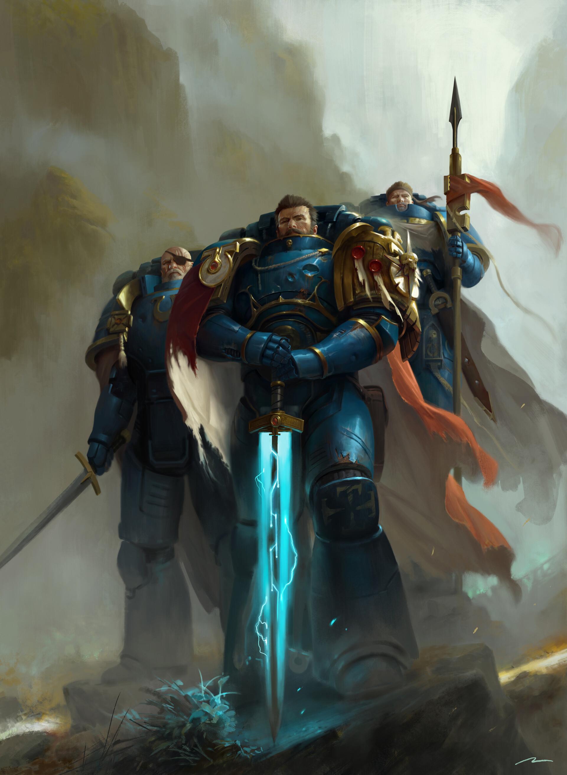 Sicarius: Les Chevaliers de Macragge de Nick Kyme Mauro-12