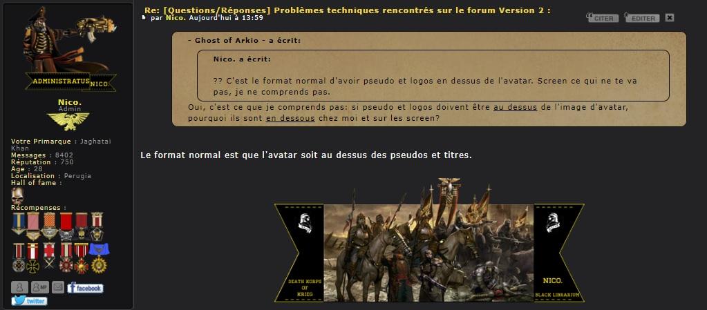 [Questions/Réponses] Problèmes techniques rencontrés sur le forum Version 2 : - Page 8 Rgqzev10