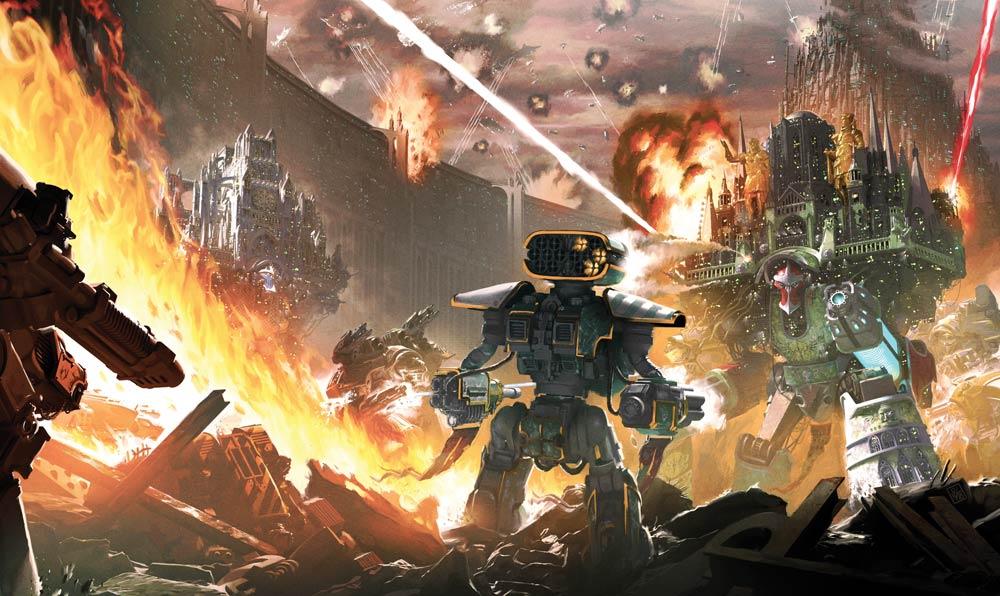 Mort de Titans de Guy Haley Titani10