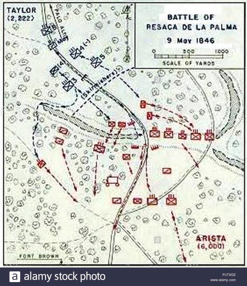 Scénario : Bataille du Resaca de la Palma Battle14