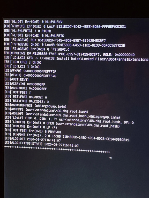 Asus & Nvidia update Catalina to Big Sur Beta 7 8841f610