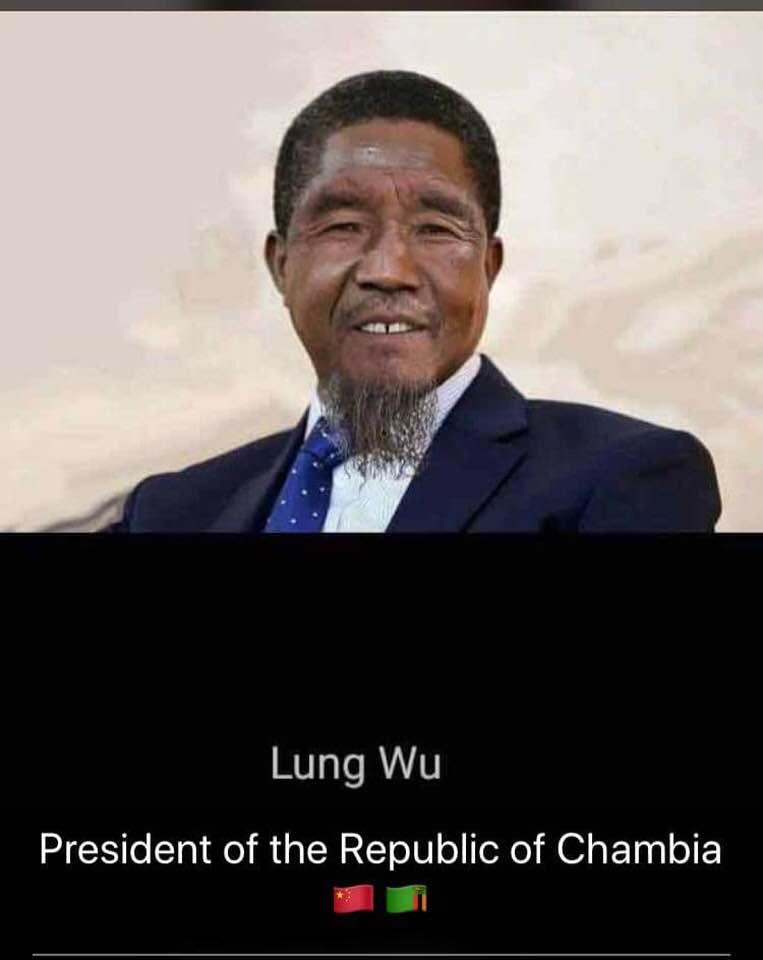 CHAMBIA. LA REPUBLIQUE CHINOISE DE LA ZAMBIE Chambi10