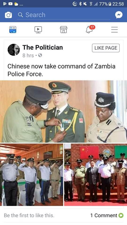 CHAMBIA. LA REPUBLIQUE CHINOISE DE LA ZAMBIE Chambi11