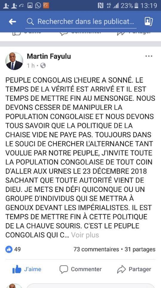 LES COMEDIENS POLITICIENS CONGOLAIS Fayulu10