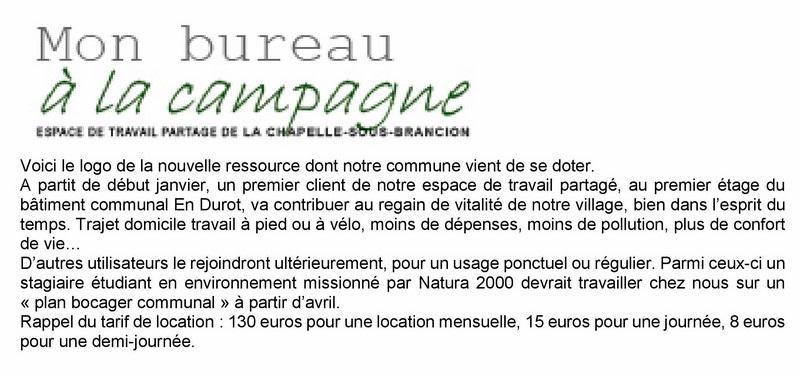 Mon bureau à la campagne, La Chapelle sous Brancion. Ngjan212