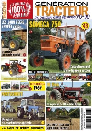 "le SOMECA 750 "" le cheval de trait orange"" Genera10"