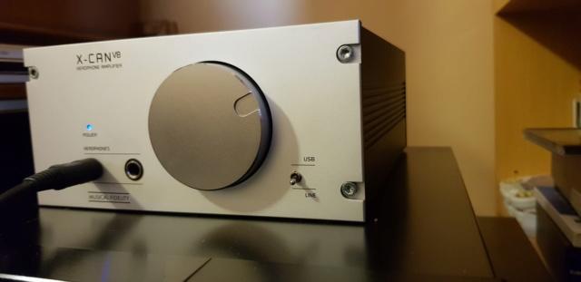 [RM + SPED.] Musical Fidelity X-CAN V8 ampli cuffie e DAC USB 20190812