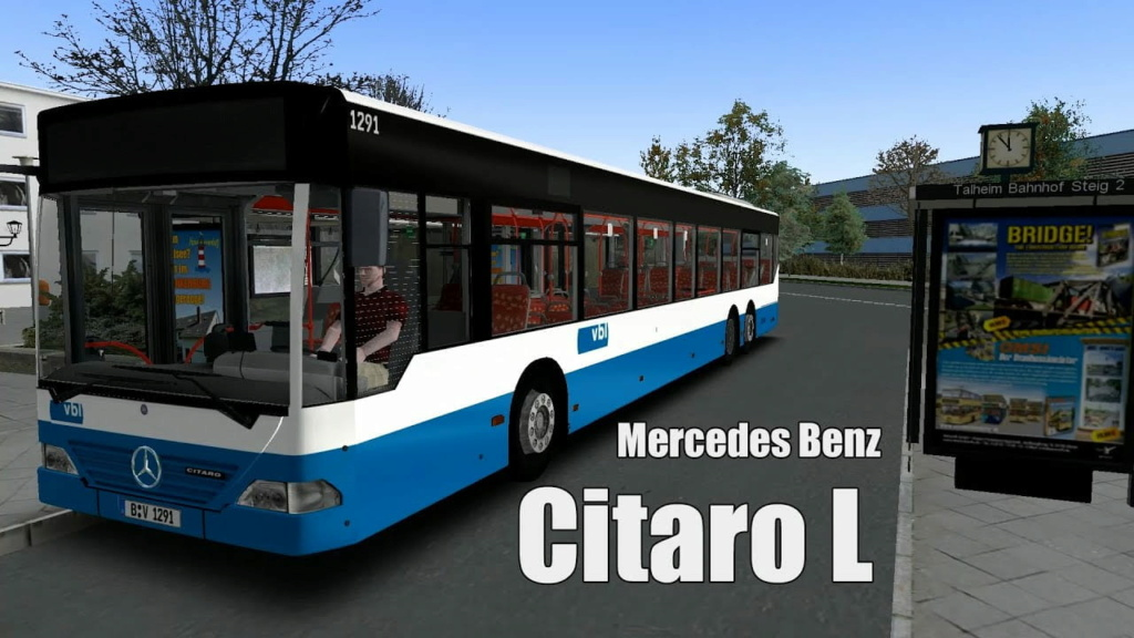 Mercedes Citaro L V1.2 , by DanielR Maxres10