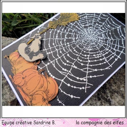Cartes créatives de Septembre. Hallow11