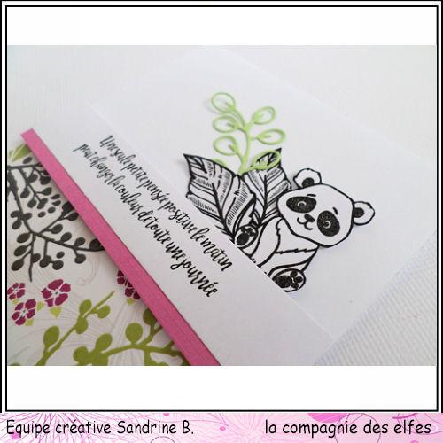 carte thème libre 3/3 A PROGRAMMER Panda110