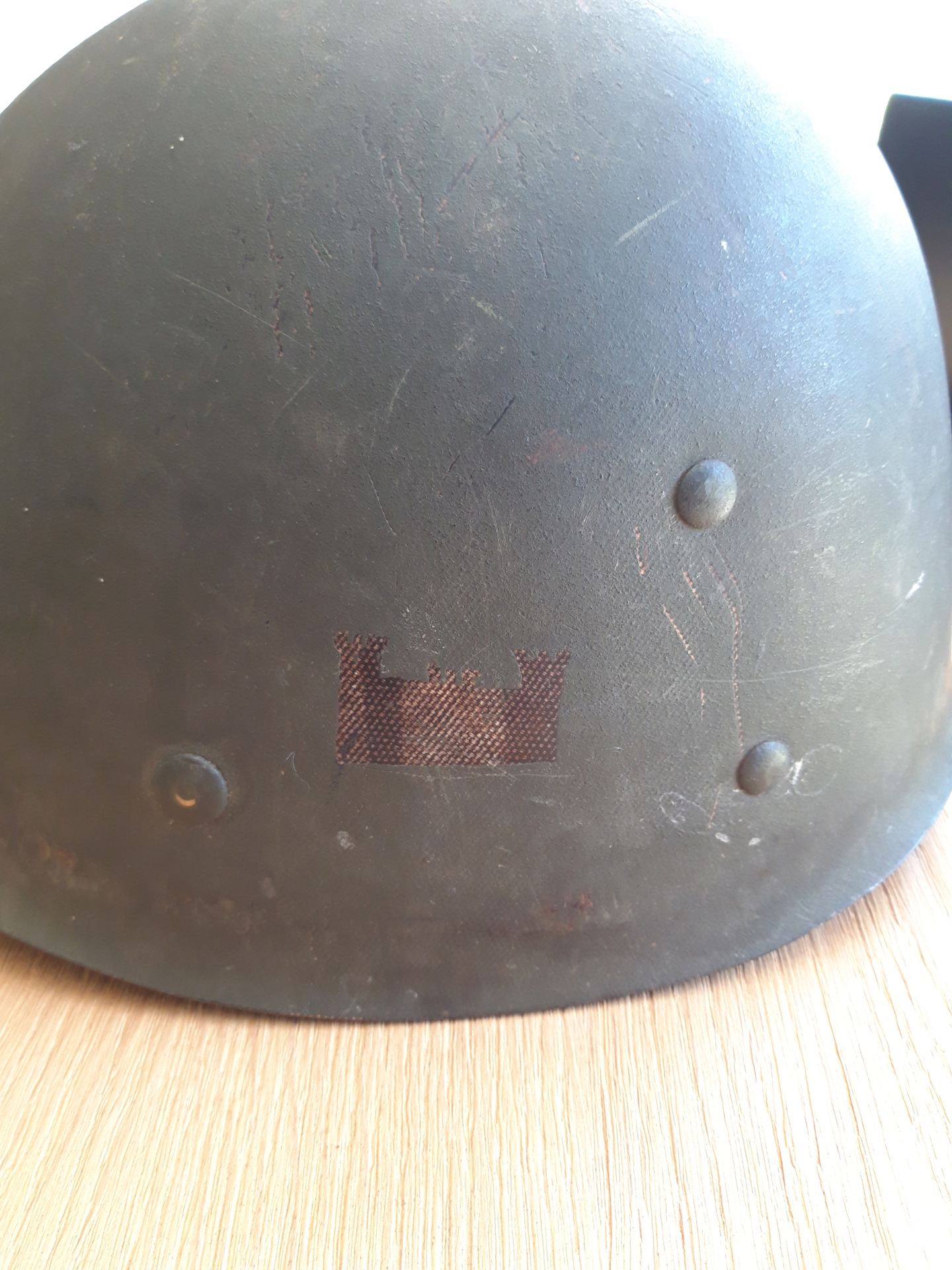 liner us ww2 engineer Casque13