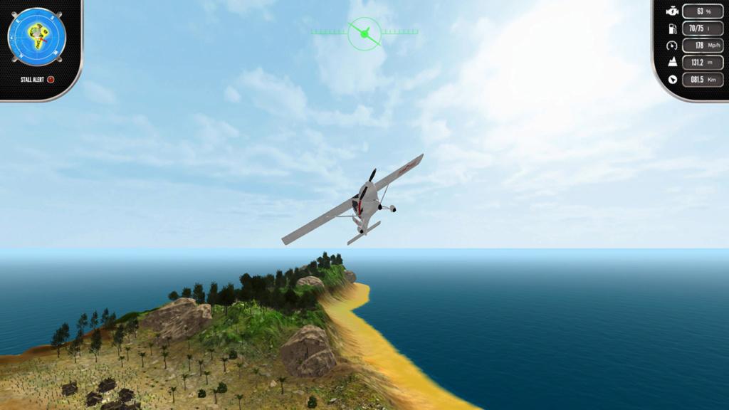 TEST : island flight simulator (SWITCH)  Nswitc10