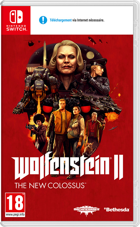 TEST : WOLFENSTEIN 2 THE NEW COLOSSUS ! ( SWITCH) Ps_nsw10