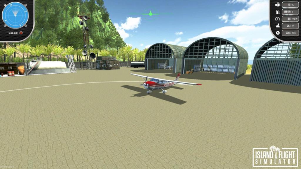 TEST : island flight simulator (SWITCH)  Start-10