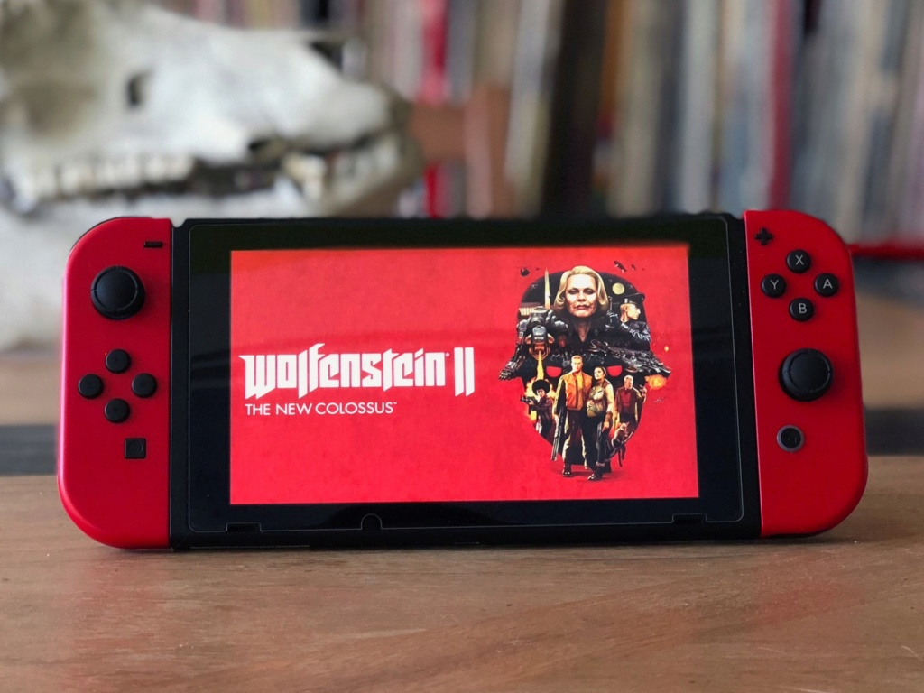 TEST : WOLFENSTEIN 2 THE NEW COLOSSUS ! ( SWITCH) Switch10