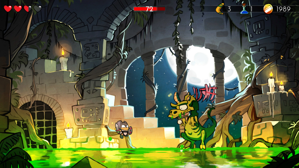TEST : Wonder Boy : The Dragon's Trap Wonder12