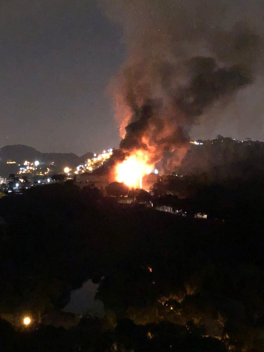 Incêndio atinge Museu Nacional, no Rio de Janeiro neste domingo 20180910