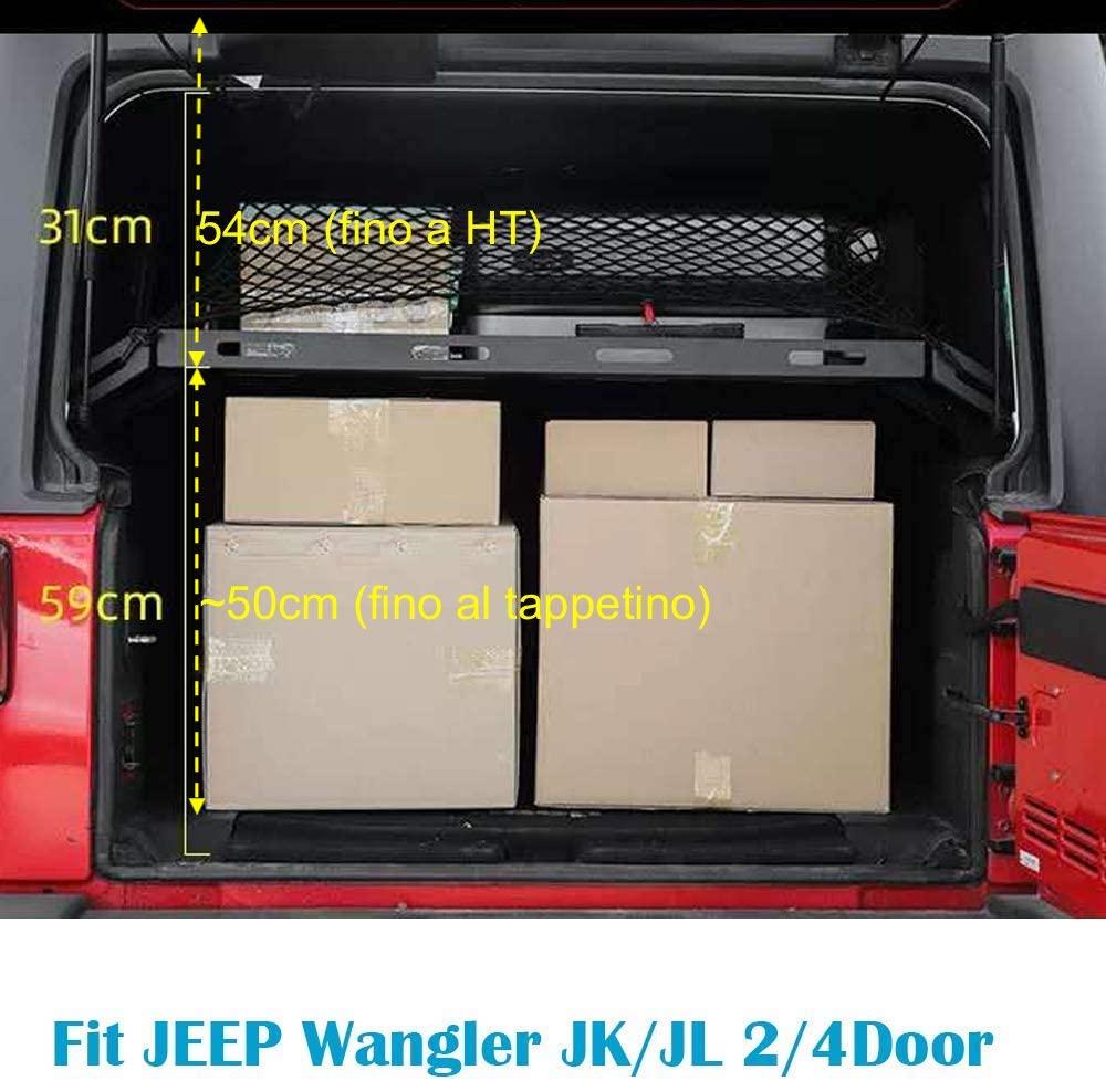Jeep Wrangler JKU rear cargo rack Altezz11