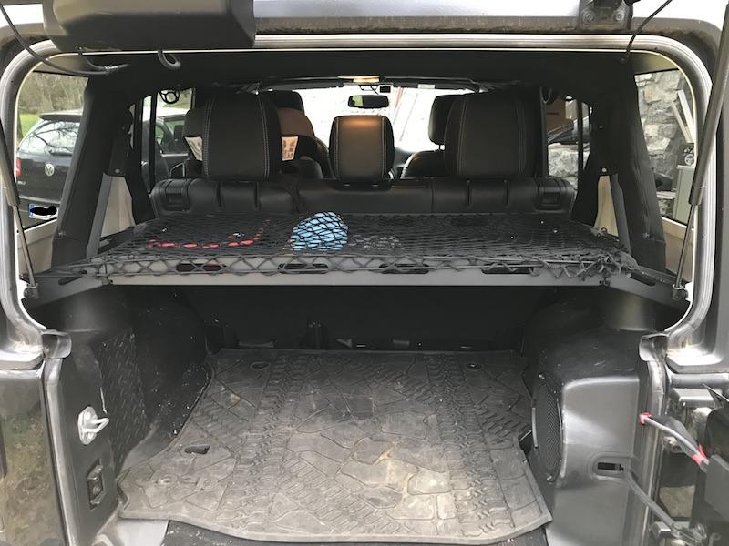 Jeep Wrangler JKU rear cargo rack Cargor10