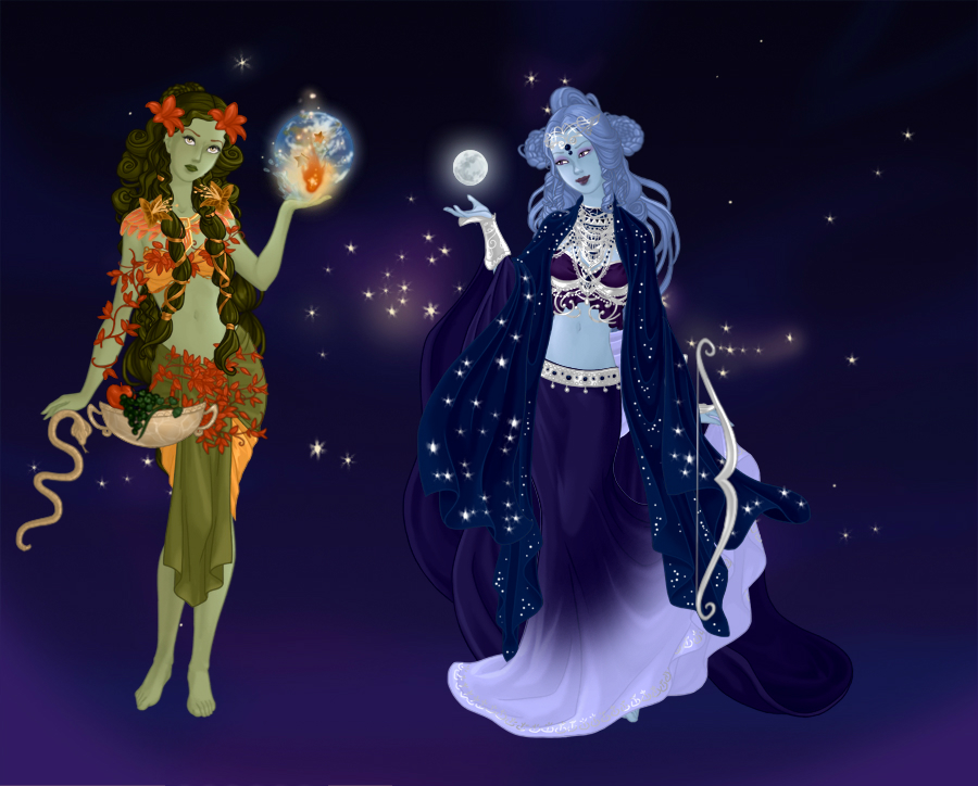 Dollmakers Dollhouse - non-ElfQuest related dollz - Page 11 Goddes11