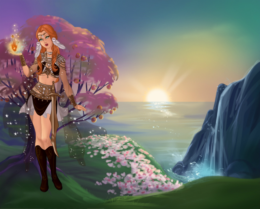 Dollmakers Dollhouse - non-ElfQuest related dollz - Page 15 Goddes15