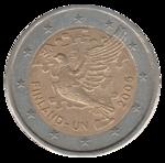 Jésus : après mon Retour votre euro sera remplacé par une monnaie dont l'effigie sera nos deux Cœurs 150px-11