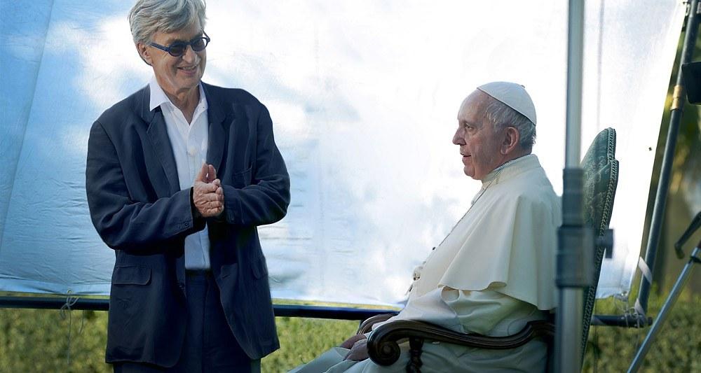 """""""Le Pape François, un homme de parole"""" film de Wim Wenders.  22044310"""