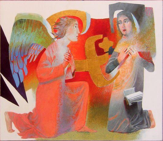 Bonne et sainte fête de l'Annonciation ! Annonc12