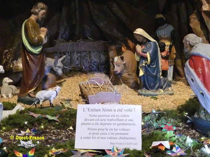 EPIPHANIE: L'ADORATION DES ROIS MAGES de P. C. Aubrit St Pol Crozon10