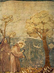 L'oiseau fait son nid Giotto10