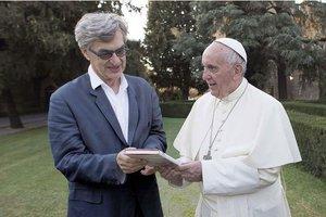 """""""Le Pape François, un homme de parole"""" film de Wim Wenders.  W10"""