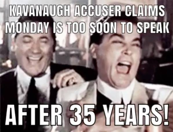 Kavanaugh WILL BE CONFIRMED (Q) Despite Derailment/Smear PLOT (Yes, Plot!) - Bombshell Photo of Kavanaugh Accuser Says It All 42256810