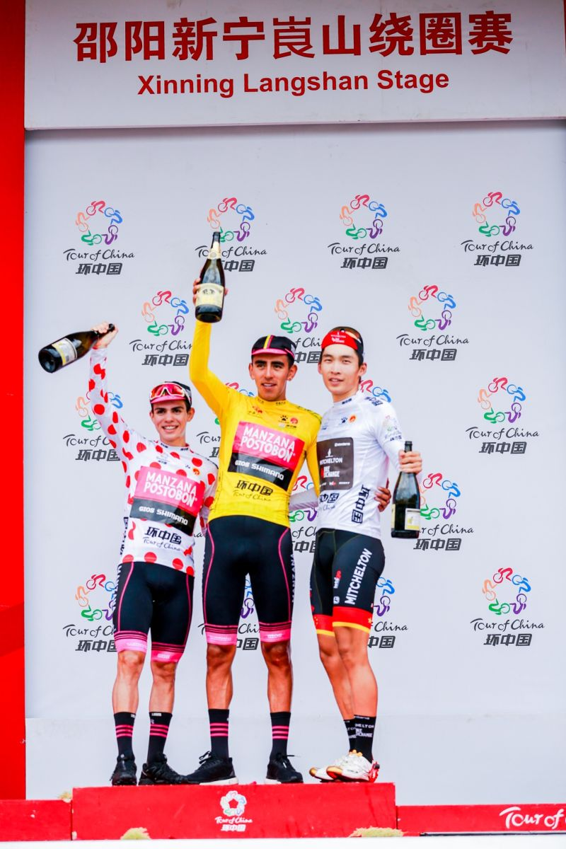Campeones de la Montaña UCI 2018 Higuit10