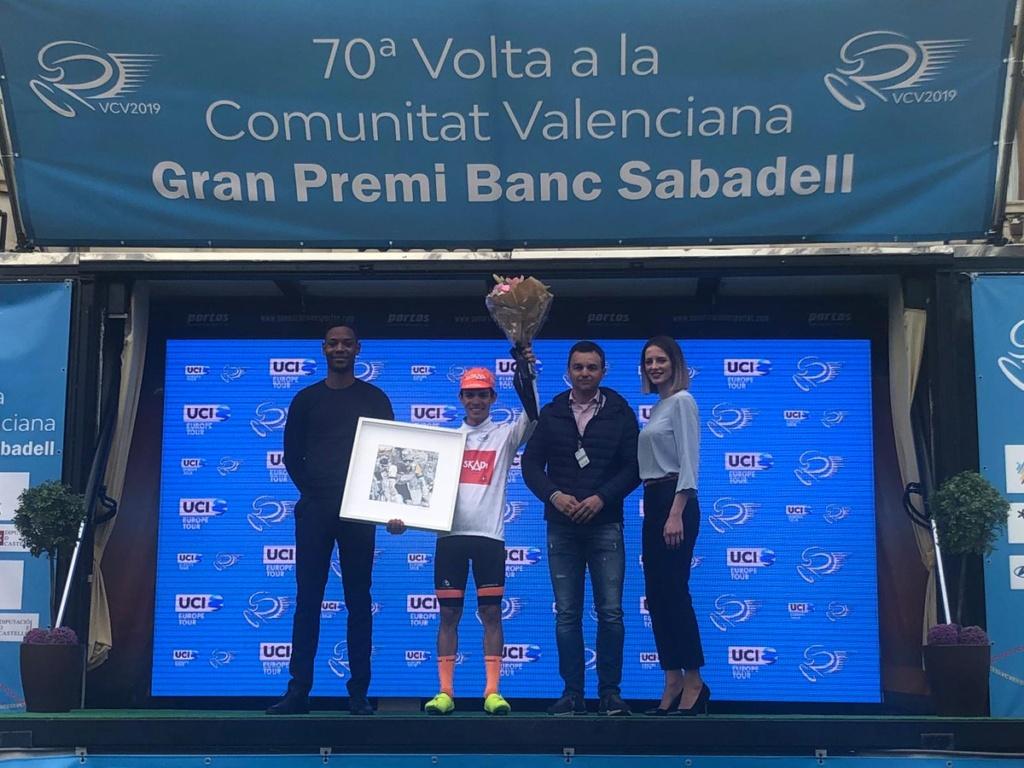 Campeones de Jóvenes UCI 2019 Higuit11