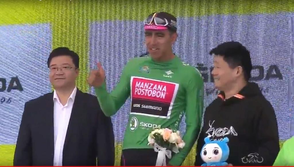Campeones de Regularidad, Puntos, Metas volantes UCI 2018 Molano11