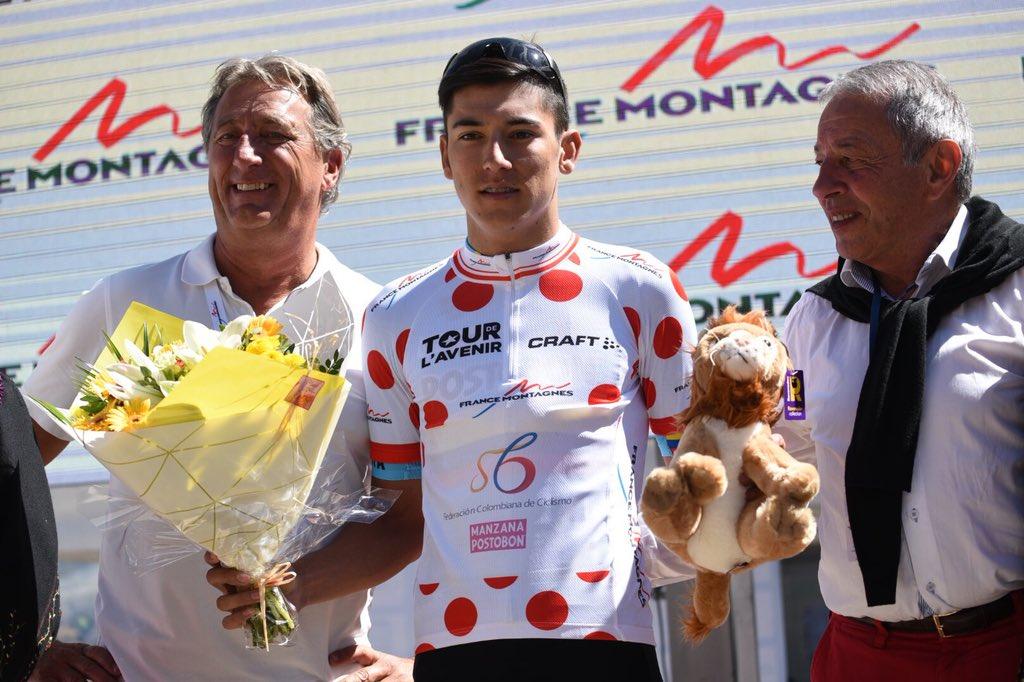 Campeones de la Montaña UCI 2018 Osorio10