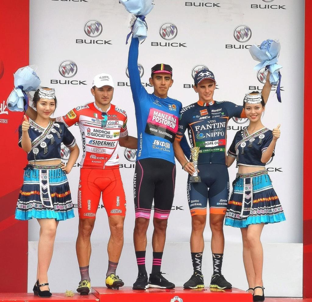 Campeones de Regularidad, Puntos, Metas volantes UCI 2018 Puntos10