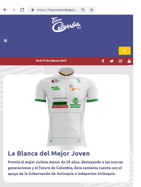 Campeones de Jóvenes UCI 2019 Sub2510