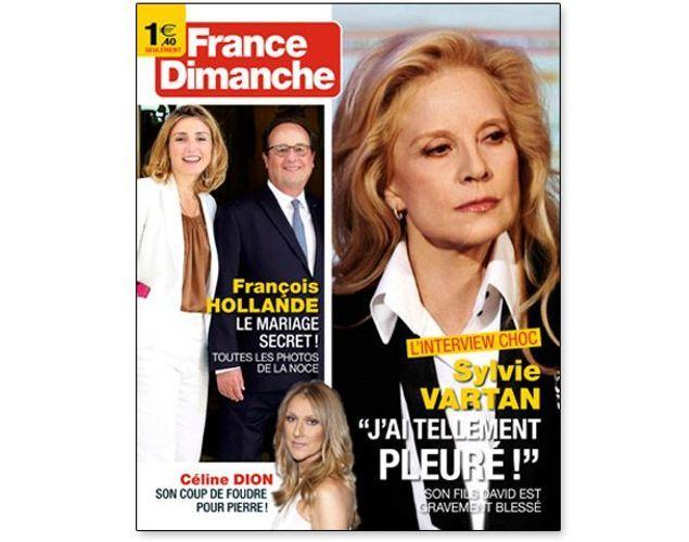 PRESSE - En couverture de France Dimanche 374711