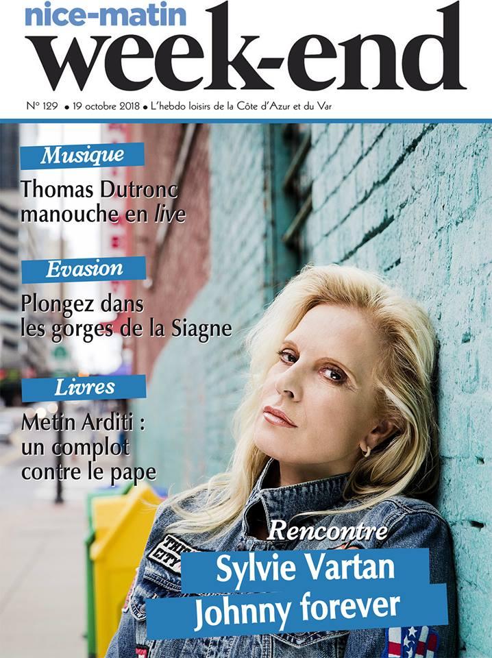PRESSE - Sylvie en couverture de Var Matin et Nice Matin 44131410